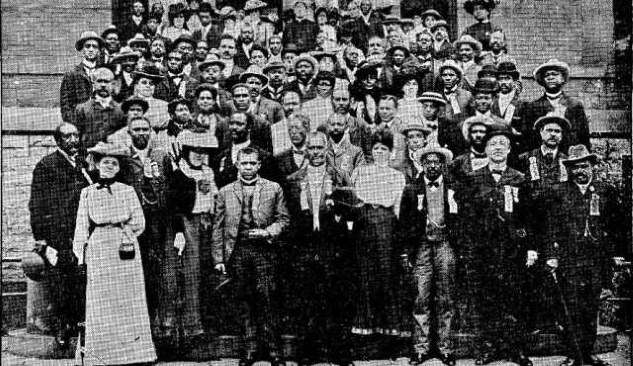 National Afro-American Council meeting, St. Paul MN, 1902