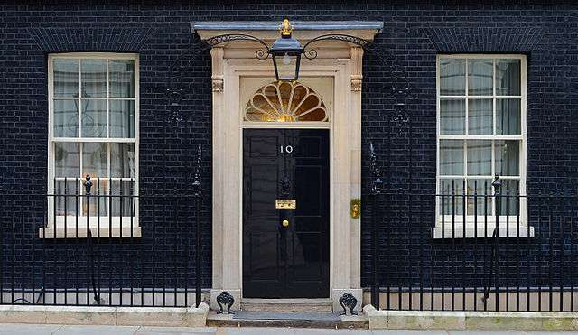 No. 10 Downing St.