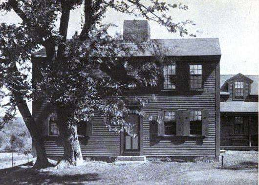 The Fruitlands farmhouse, 1915