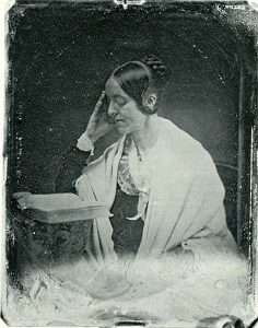 Margaret Fuller at 38, daguerrotype