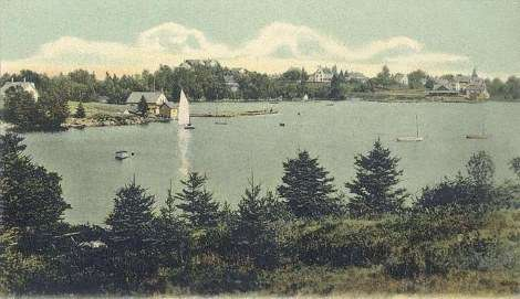 Christmas Cove in 1906