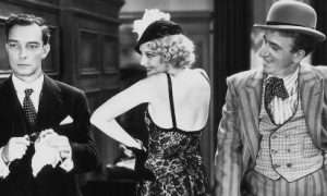 More details Buster Keaton, Thelma Todd and Jimmy Durante in Speak Easily (1932)