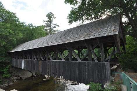 Six Covered Bridges - New England Historical Society