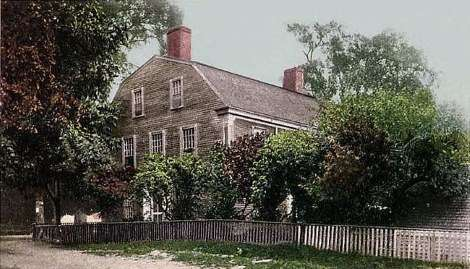 The William Pepperrell House.
