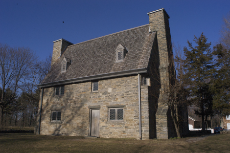 A Loyalist house in Connecticut, owned by Joseph Pynchon on the eve of the Revolution.