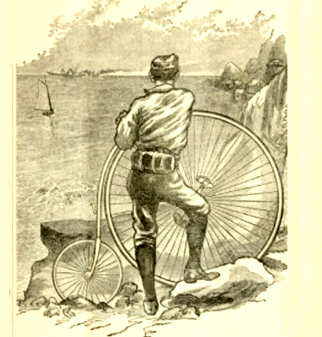 newport cottages - bicycle