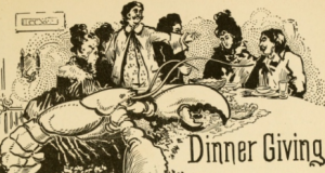 historic thanksgiving foods