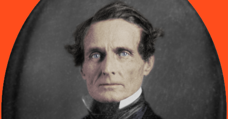jefferson davis in new england