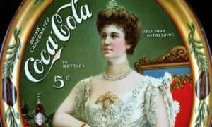 Lillian Nordica advertises Coca-Cola.