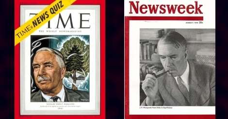 J.P. Marquand on Time and Newsweek covers