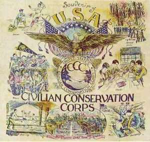 civilian-conservation-corps-pillow