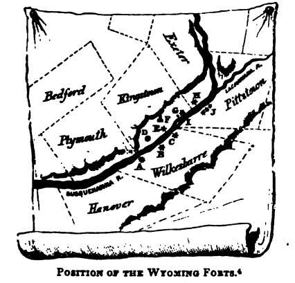 pennamite-war-forts