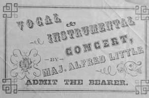 Alfred Little concert ticket