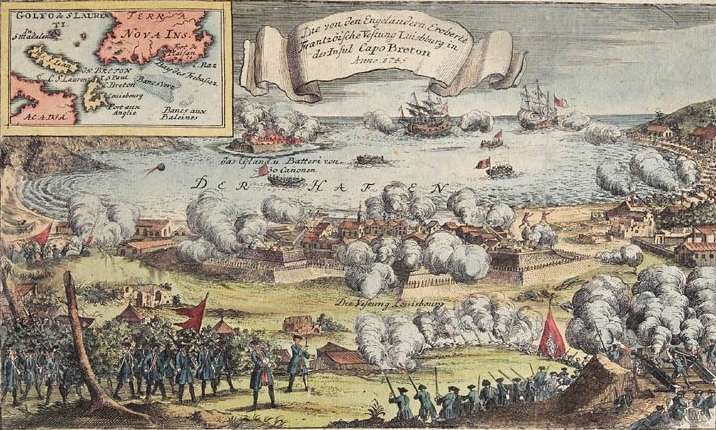 Wiscasset Incident and The Battle of Louisbourg
